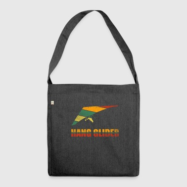 Hang Glider Shirt Hang Glider Gift Glider - Shoulder Bag made from recycled material