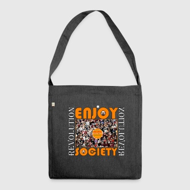 Enjoy Society - Schultertasche aus Recycling-Material