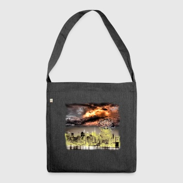 Apocalypse - Schultertasche aus Recycling-Material