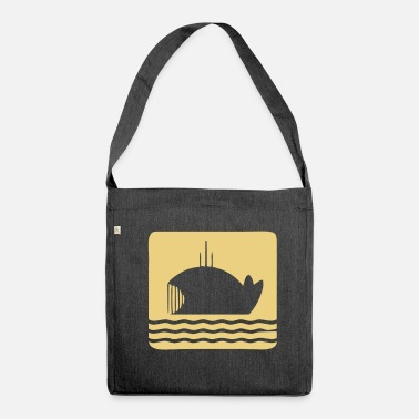 Dick Moby Dick - Borsa in materiale riciclato
