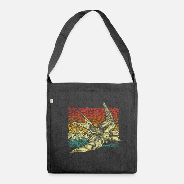Animal Rights Activists Bird animal rights activist - Shoulder Bag made from recycled material