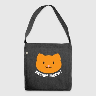Meow? Meow? - Shoulder Bag made from recycled material