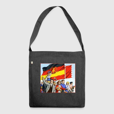 DDR parade - Shoulder Bag made from recycled material