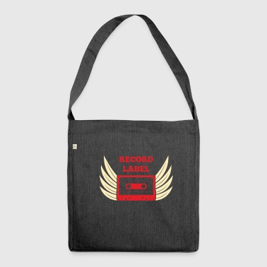 Record Label - Shoulder Bag made from recycled material