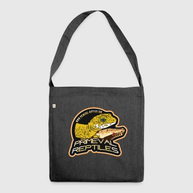Primeval Reptiles - Shoulder Bag made from recycled material