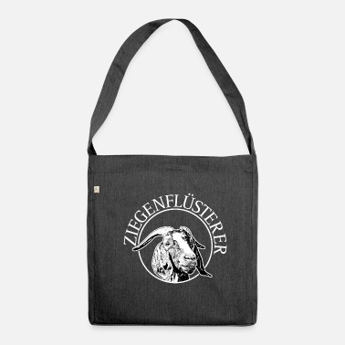 Goat Goat Whisperer Goat Goat - Shoulder Bag made from recycled material