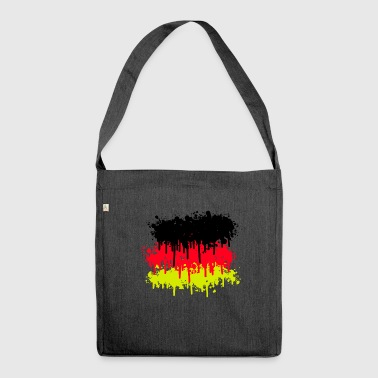 Germany flag, Germany flag - Shoulder Bag made from recycled material
