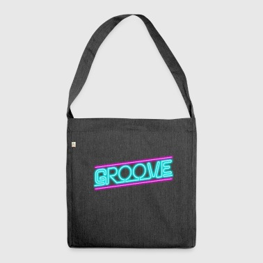 Groove - Schultertasche aus Recycling-Material