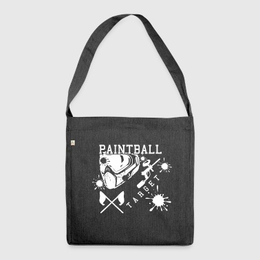 Paintball - Shoulder Bag made from recycled material