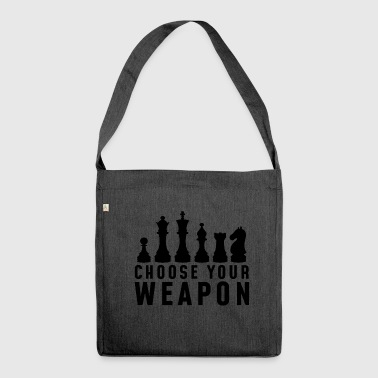 Chess Club - Shoulder Bag made from recycled material