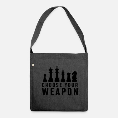 Chess Chess Club - Shoulder Bag made from recycled material