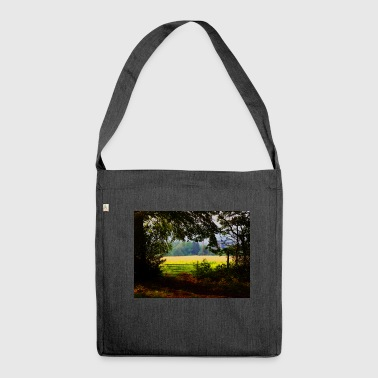 A beautiful view - Shoulder Bag made from recycled material