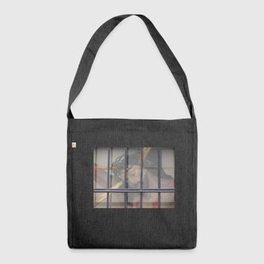 Jesus in prison - Shoulder Bag made from recycled material