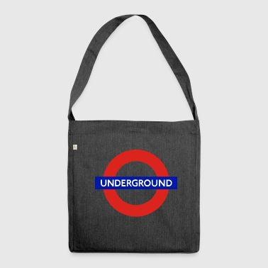 london Underground - Schultertasche aus Recycling-Material