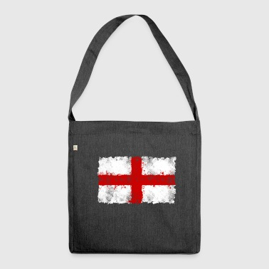 England flag, England flag, England, - Shoulder Bag made from recycled material