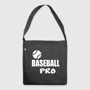 baseball pro - Shoulder Bag made from recycled material