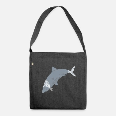 Arctic ARCTIC SHARK - Shoulder Bag made from recycled material