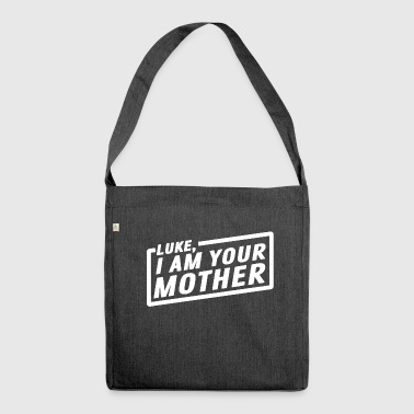 Luke, i'm your mother - Shoulder Bag made from recycled material