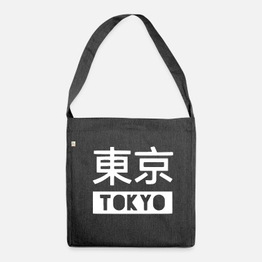 Tokyo tokyo tokyo - Shoulder Bag made from recycled material