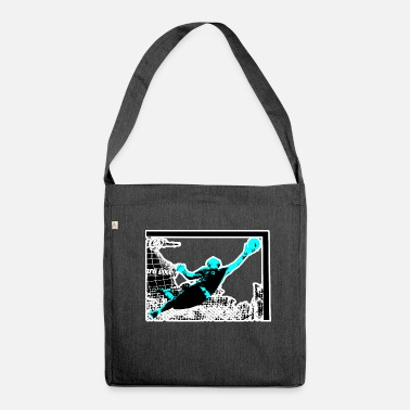 Goalkeeper goalkeeper - Shoulder Bag made from recycled material