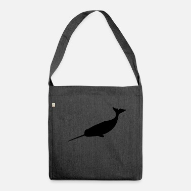 Narwhal narwhal - Shoulder Bag made from recycled material