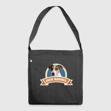 Jack Russel, cane, idea regalo - Borsa in materiale riciclato