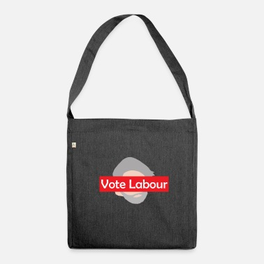 Labour Vote Labour / Jeremy Corbyn - Shoulder Bag recycled