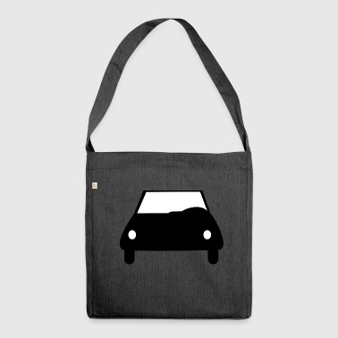 Auto Auto Auto Auto Auto Auto Autofahrer - Schultertasche aus Recycling-Material