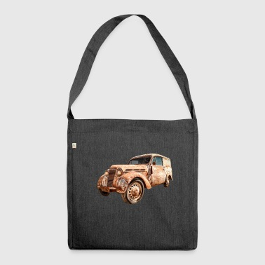 Oldtimer Transporter - Schultertasche aus Recycling-Material