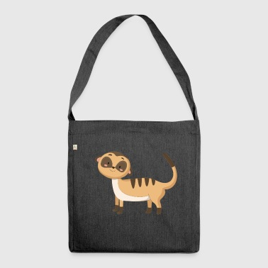 Meerkat meerkat - Shoulder Bag made from recycled material