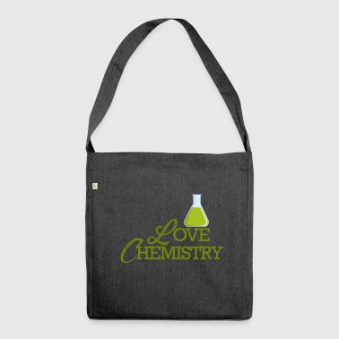 Chemistry / Chemistry: Love Chemistry - Shoulder Bag made from recycled material