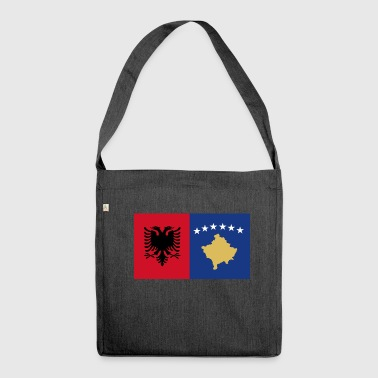 Albania Kosovo - Shoulder Bag made from recycled material