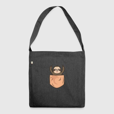 Sloth Pocket Pocket - Schoudertas van gerecycled materiaal