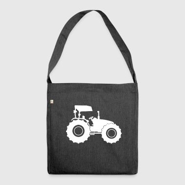 Tractor Tractor tractor - Shoulder Bag made from recycled material