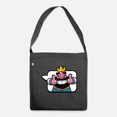 Clash Emoticon King Royale Clash - Shoulder Bag recycled