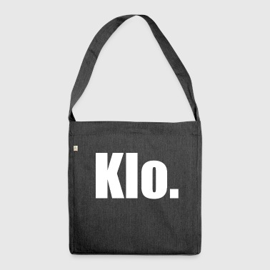Klo. - Schultertasche aus Recycling-Material