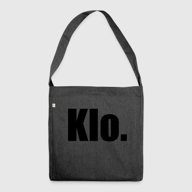 Klo Klo. - Schultertasche aus Recycling-Material