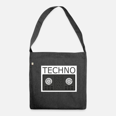 Turntable Techno Turntable - Borsa in materiale riciclato