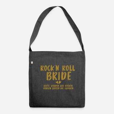 Sposo Rock'n Roll Bride - JGA - Gold Series - Borsa in materiale riciclato