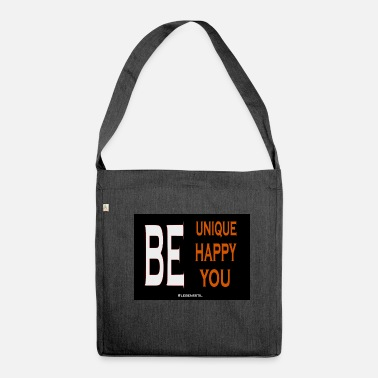 Be You BE UNIQUE BE YOU - Umhängetasche aus Recyclingmaterial