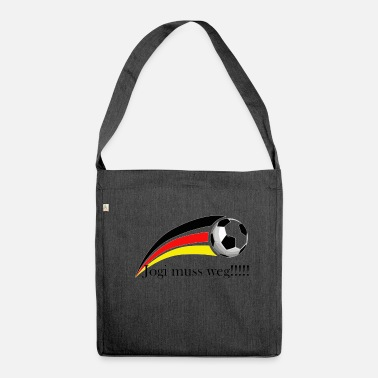 Jogi Jogi has to go !!!! - Shoulder Bag made from recycled material