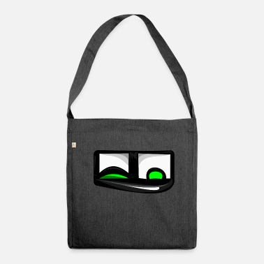 Emoticon Emoticon Emoticon Emoticon di Quatschicon Petzaugenbob - Borsa in materiale riciclato