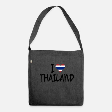 Thailand Thailand - Shoulder Bag made from recycled material