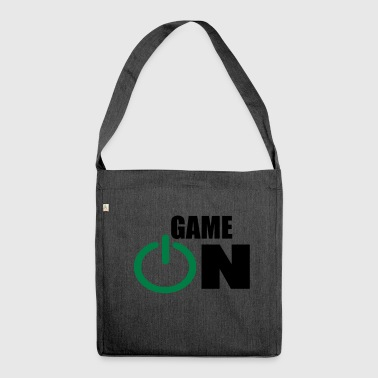 game on - Shoulder Bag made from recycled material