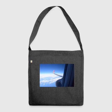 Wing view - Shoulder Bag made from recycled material