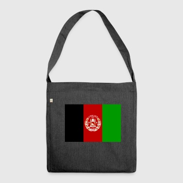 Afghanistan flag - Shoulder Bag made from recycled material