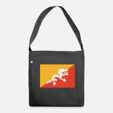Bhutan bhutan - Shoulder Bag made from recycled material