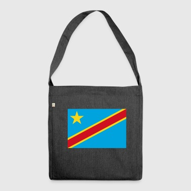 The Democratic Republic of the Congo flag - Shoulder Bag made from recycled material