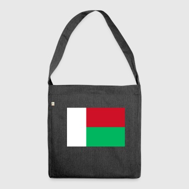 Madagascar Flag - Shoulder Bag made from recycled material