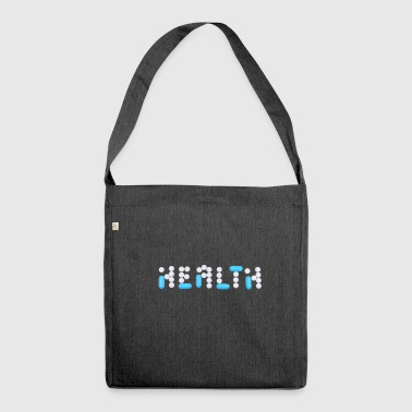 Health Health - Schultertasche aus Recycling-Material
